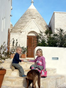 Trulli with pool Puglia