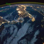 Puglia from space